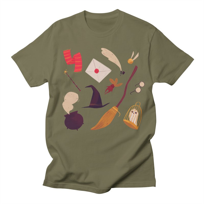 Magic Pattern Men's T-Shirt by nanlawson's Artist Shop