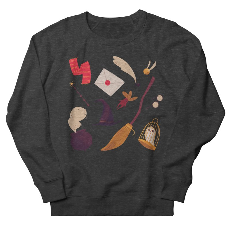 Magic Pattern Men's French Terry Sweatshirt by nanlawson's Artist Shop