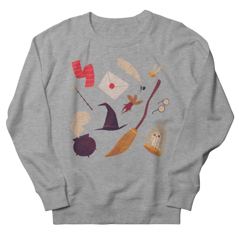 Magic Pattern Men's French Terry Sweatshirt by Nan Lawson