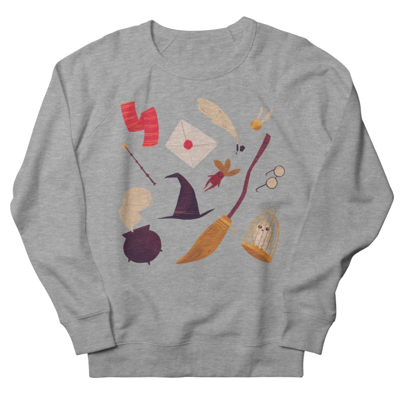 Magic Pattern Men's French Terry Sweatshirt by nanlawson's Artist Shop