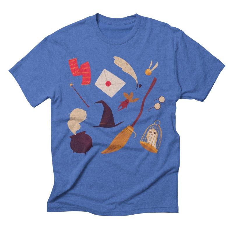 Magic Pattern Men's Triblend T-Shirt by Nan Lawson