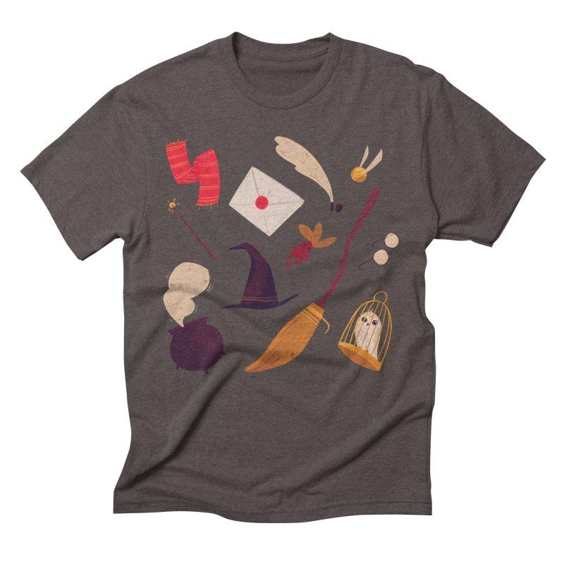 Magic Pattern Men's Triblend T-Shirt by nanlawson's Artist Shop