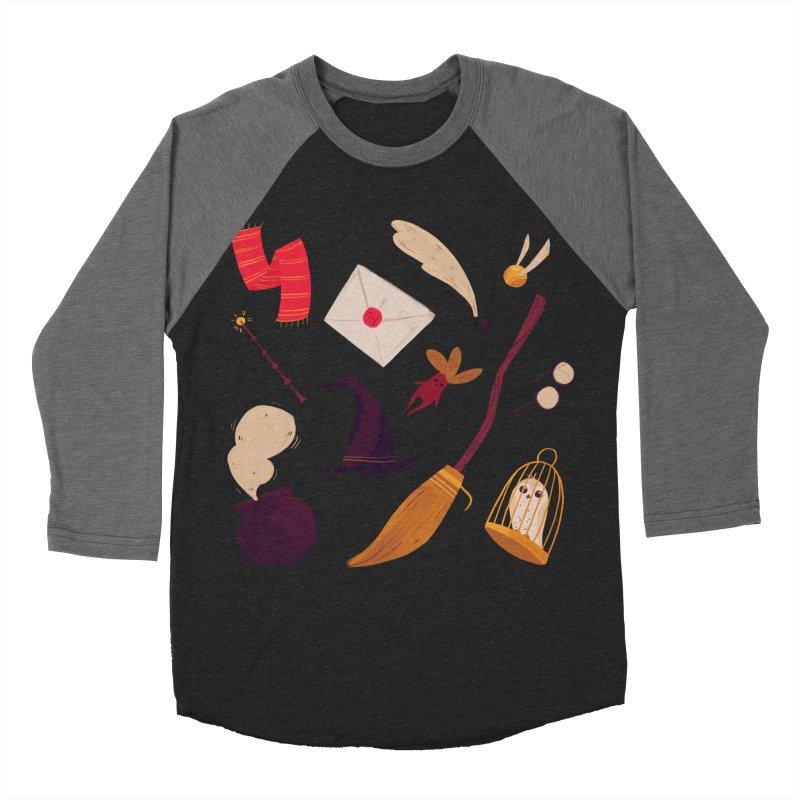 Magic Pattern Women's Baseball Triblend T-Shirt by nanlawson's Artist Shop