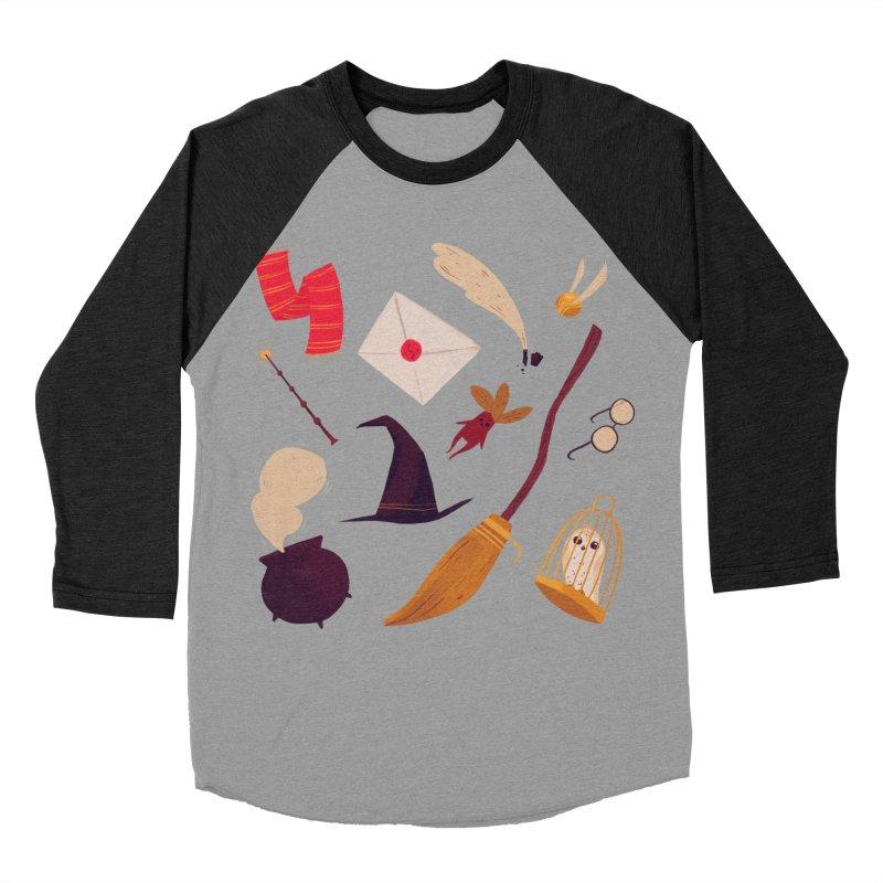 Magic Pattern Men's Baseball Triblend T-Shirt by nanlawson's Artist Shop