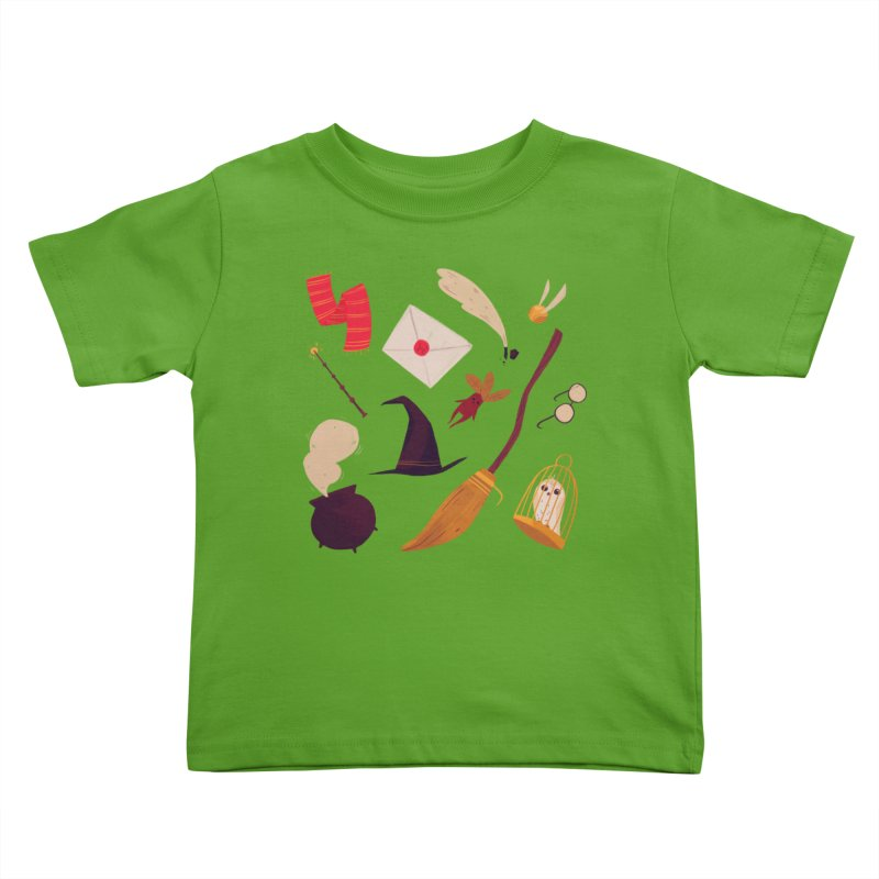 Magic Pattern Kids Toddler T-Shirt by Nan Lawson
