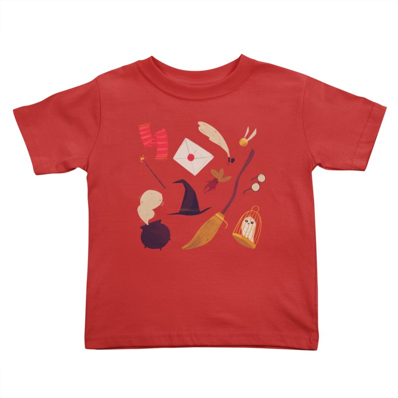 Magic Pattern Kids Toddler T-Shirt by nanlawson's Artist Shop