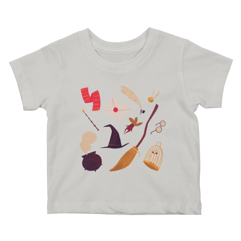 Magic Pattern Kids Baby T-Shirt by nanlawson's Artist Shop