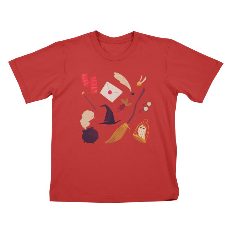 Magic Pattern Kids T-Shirt by Nan Lawson