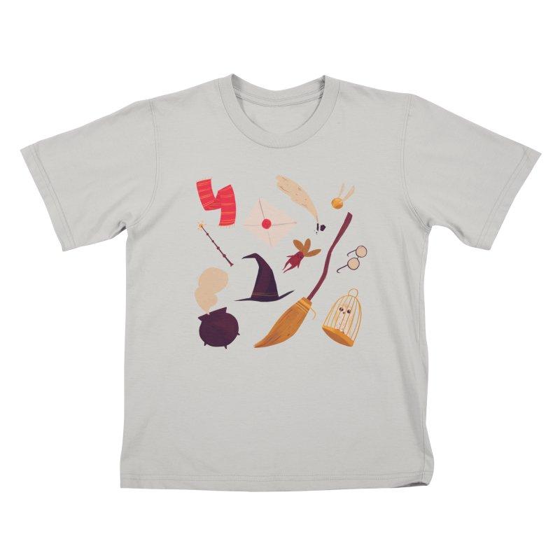 Magic Pattern Kids T-shirt by nanlawson's Artist Shop