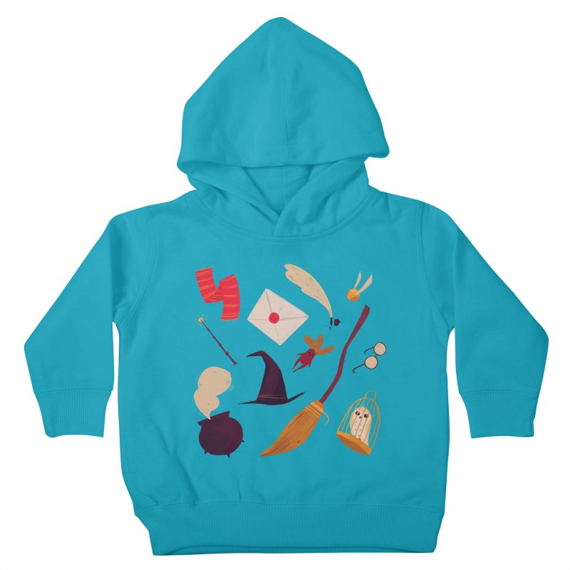 Magic Pattern Kids Toddler Pullover Hoody by nanlawson's Artist Shop