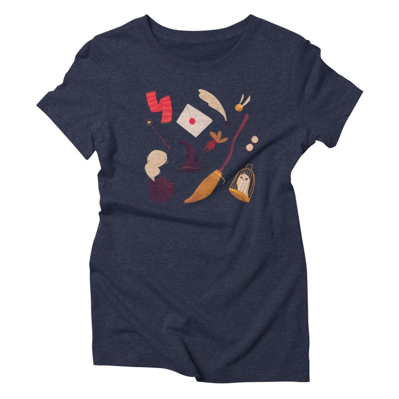 Magic Pattern Women's Triblend T-Shirt by nanlawson's Artist Shop