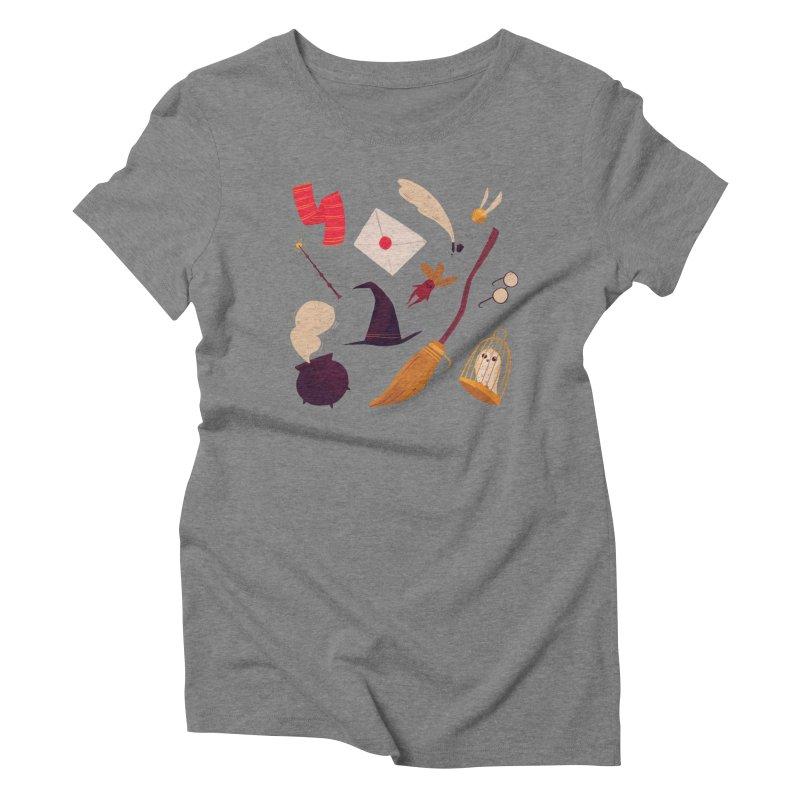 Magic Pattern Women's Triblend T-Shirt by Nan Lawson
