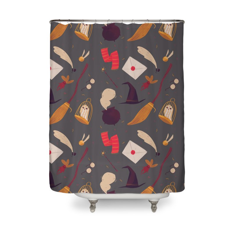 Magic Pattern Home Shower Curtain by Nan Lawson