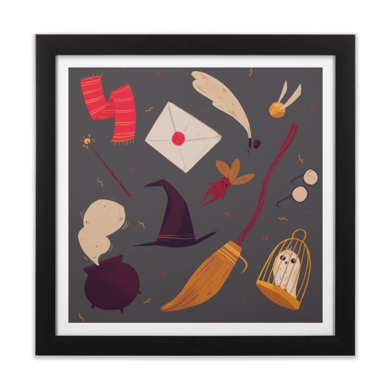 Magic Pattern Home Framed Fine Art Print by nanlawson's Artist Shop