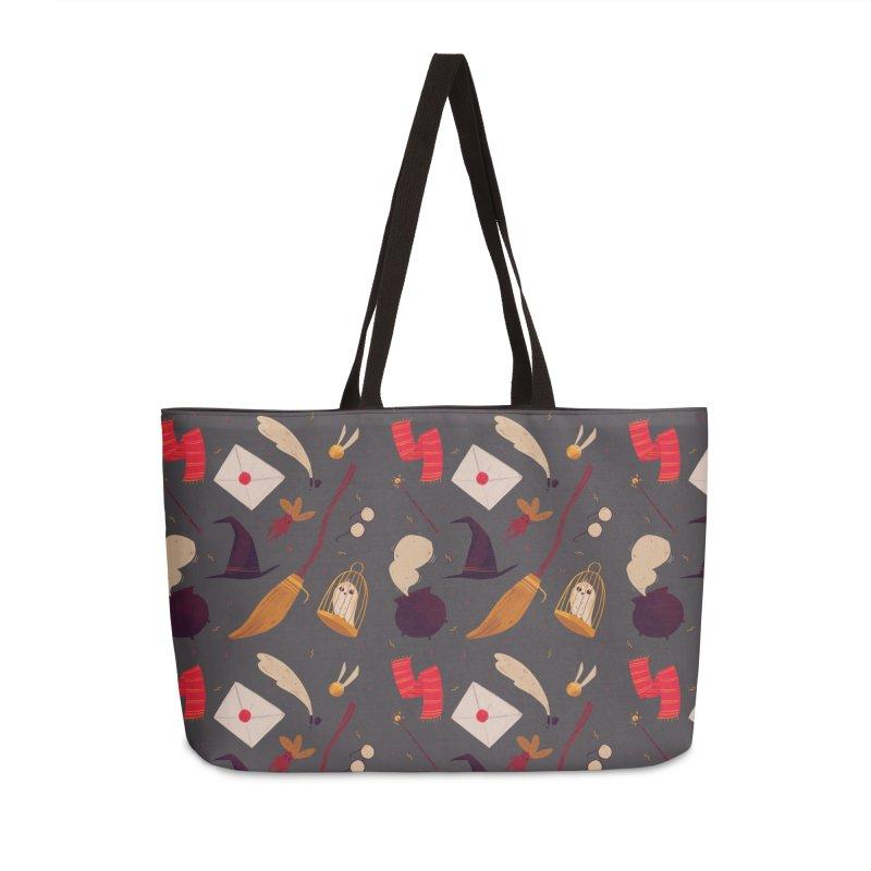 Magic Pattern Accessories Weekender Bag Bag by Nan Lawson