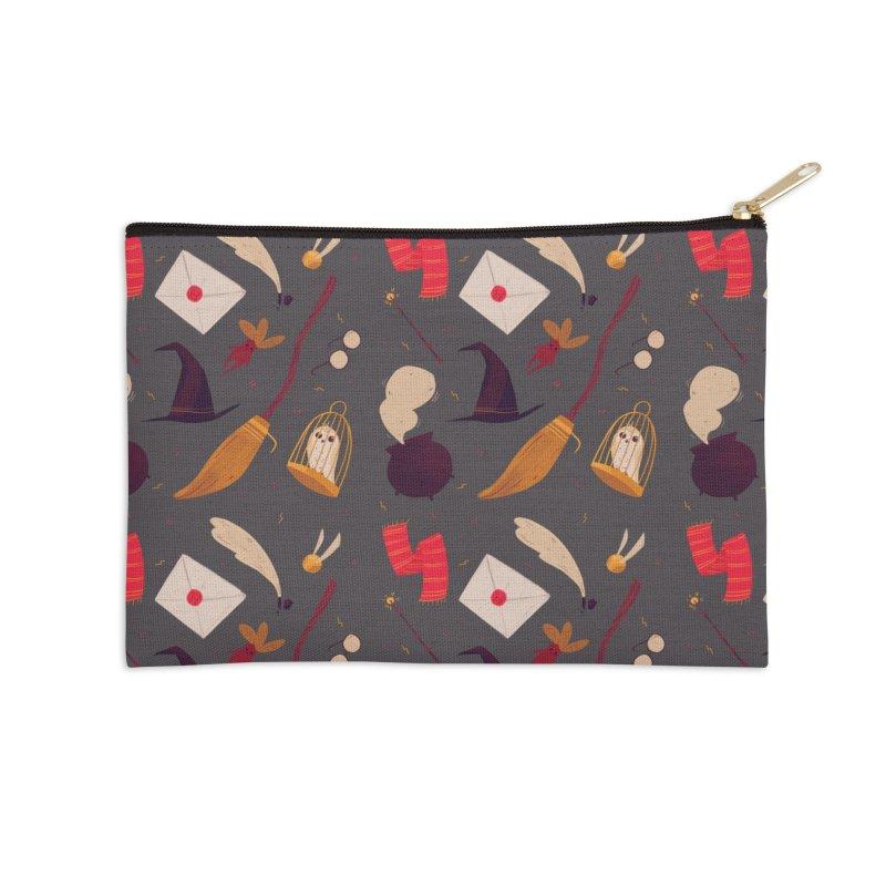 Magic Pattern Accessories Zip Pouch by nanlawson's Artist Shop