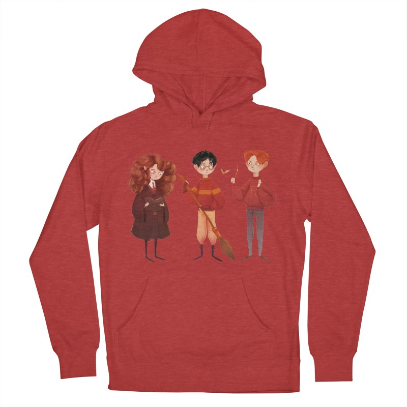 Friendship and Bravery Women's French Terry Pullover Hoody by nanlawson's Artist Shop