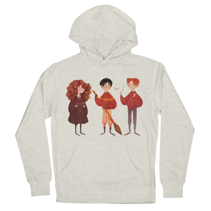 Friendship and Bravery Women's Pullover Hoody by nanlawson's Artist Shop