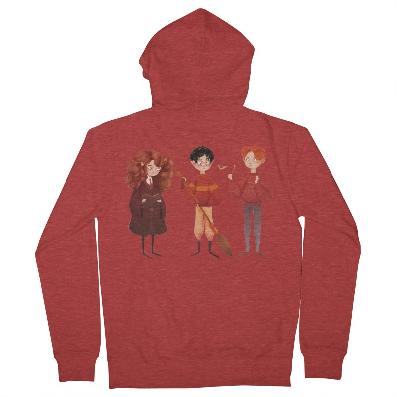 Friendship and Bravery Women's Zip-Up Hoody by nanlawson's Artist Shop