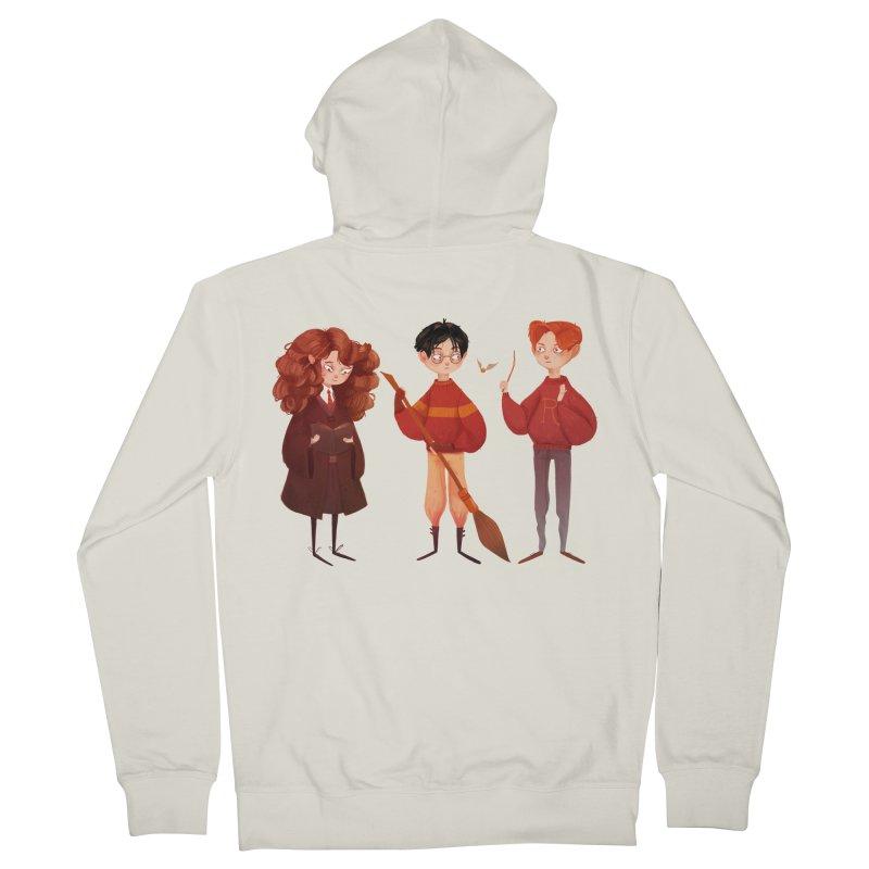 Friendship and Bravery Women's Zip-Up Hoody by nanlawson's Artist Shop