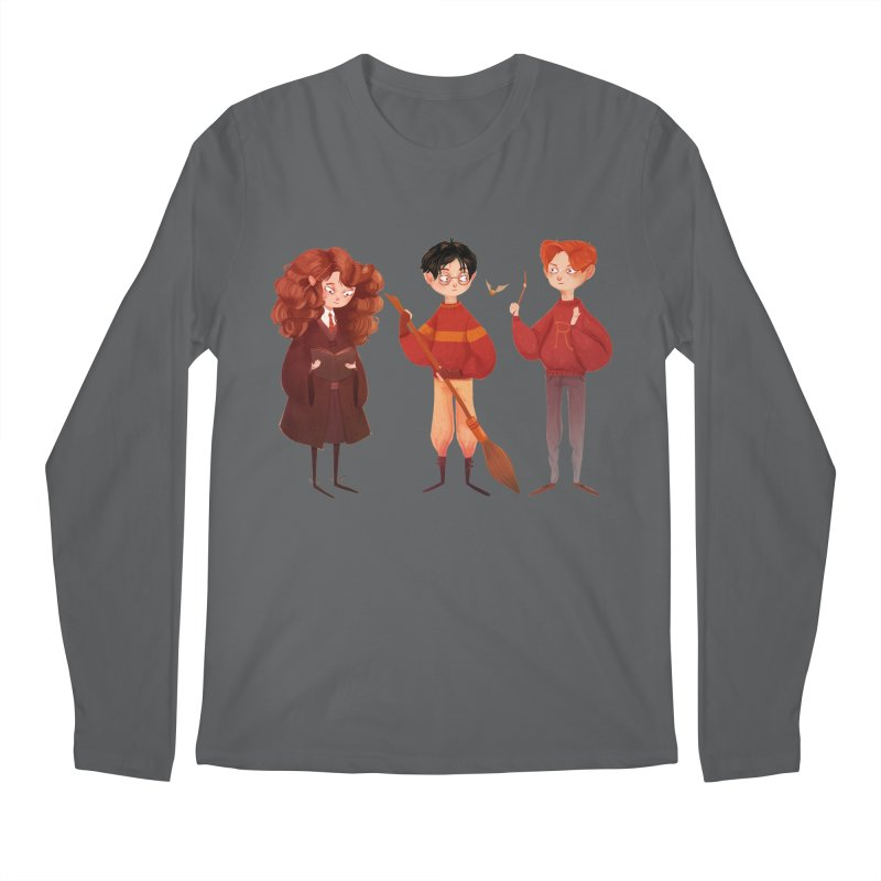 Friendship and Bravery Men's Longsleeve T-Shirt by nanlawson's Artist Shop
