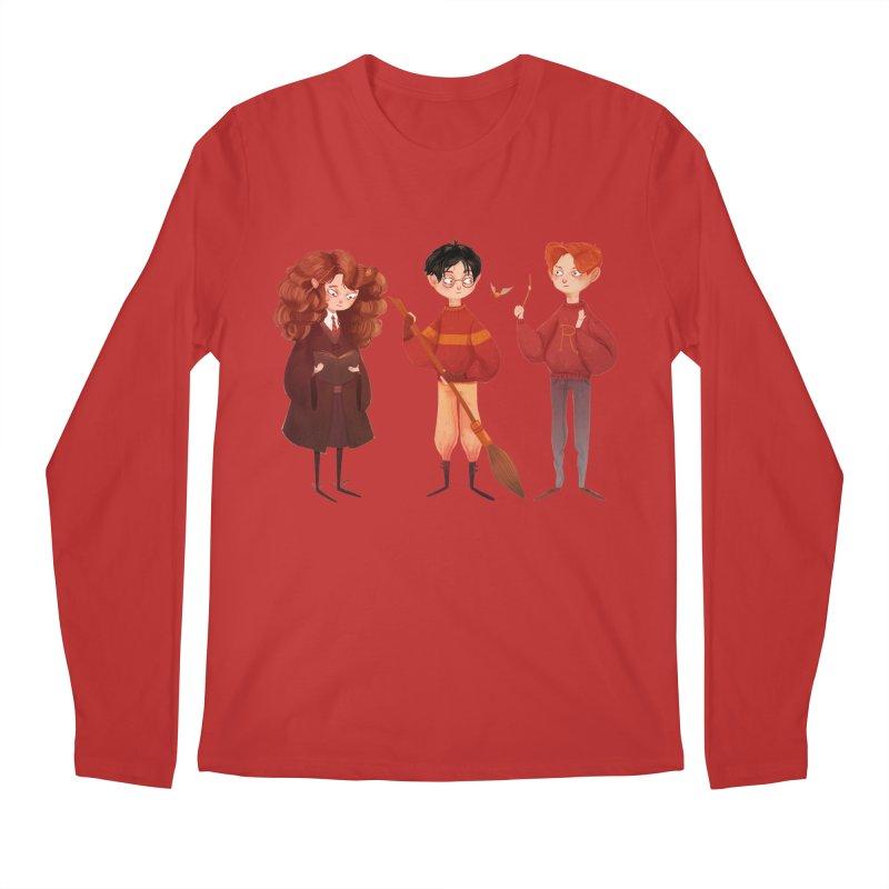 Friendship and Bravery Men's Longsleeve T-Shirt by nanlawson's Artist Shop