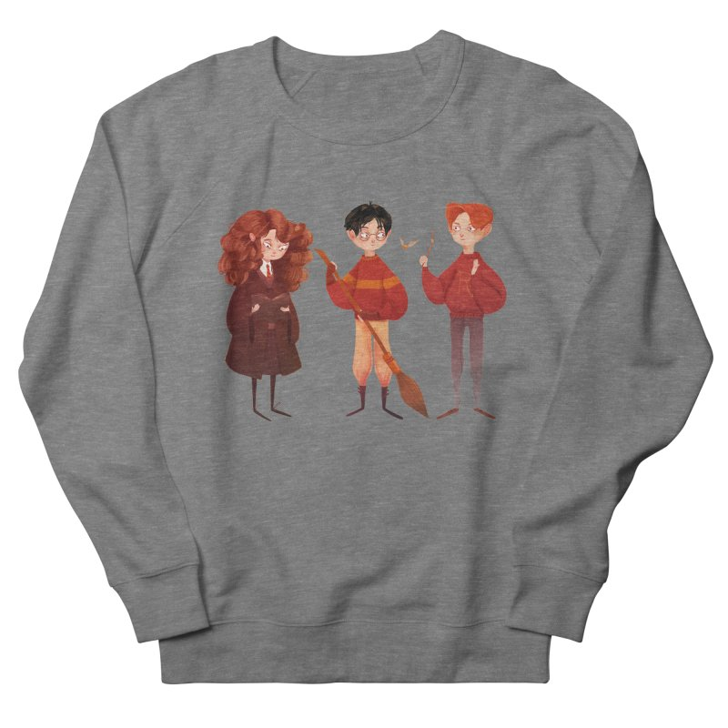 Friendship and Bravery Women's French Terry Sweatshirt by Nan Lawson