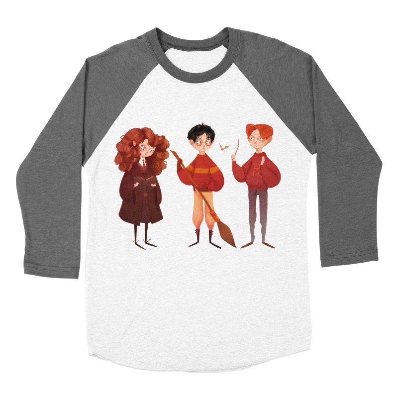 Friendship and Bravery Women's Baseball Triblend T-Shirt by nanlawson's Artist Shop