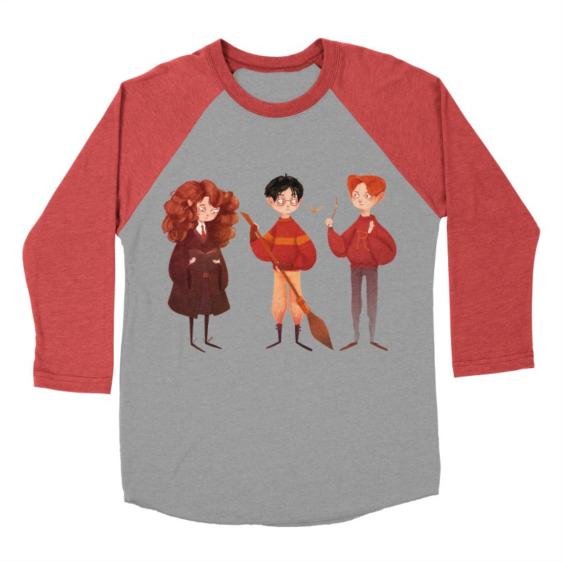 Friendship and Bravery Women's Baseball Triblend T-Shirt by nanlawson's Artist Shop