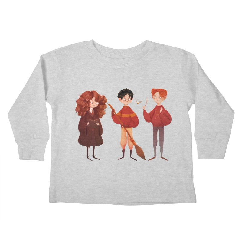 Friendship and Bravery Kids Toddler Longsleeve T-Shirt by nanlawson's Artist Shop