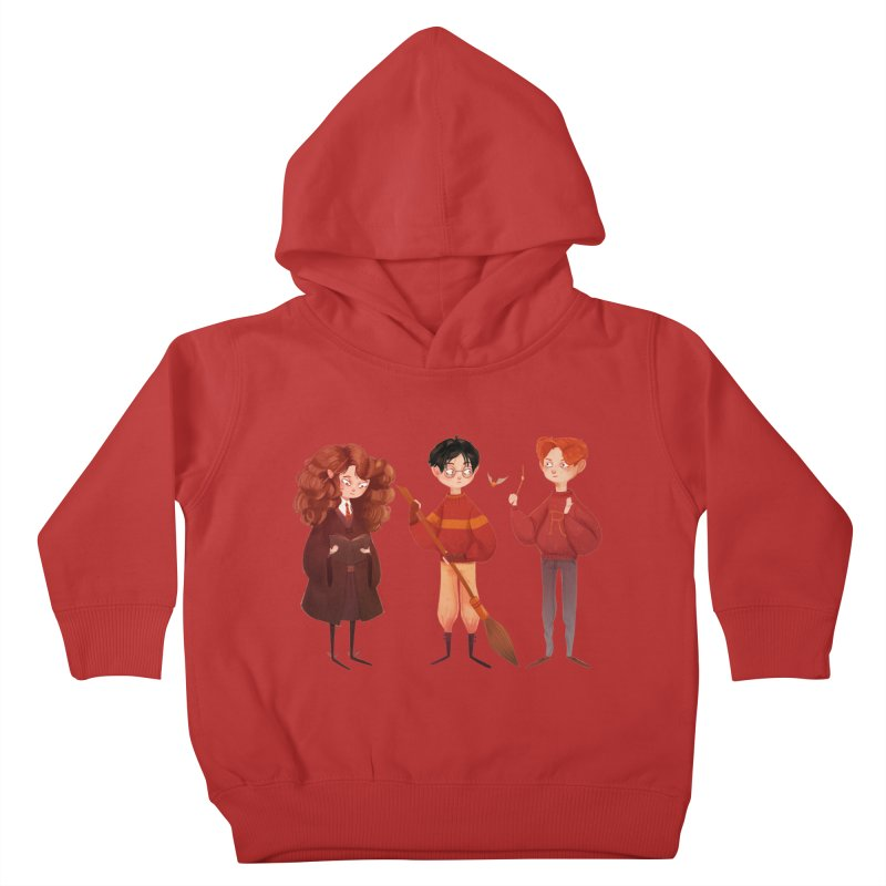 Friendship and Bravery Kids Toddler Pullover Hoody by nanlawson's Artist Shop