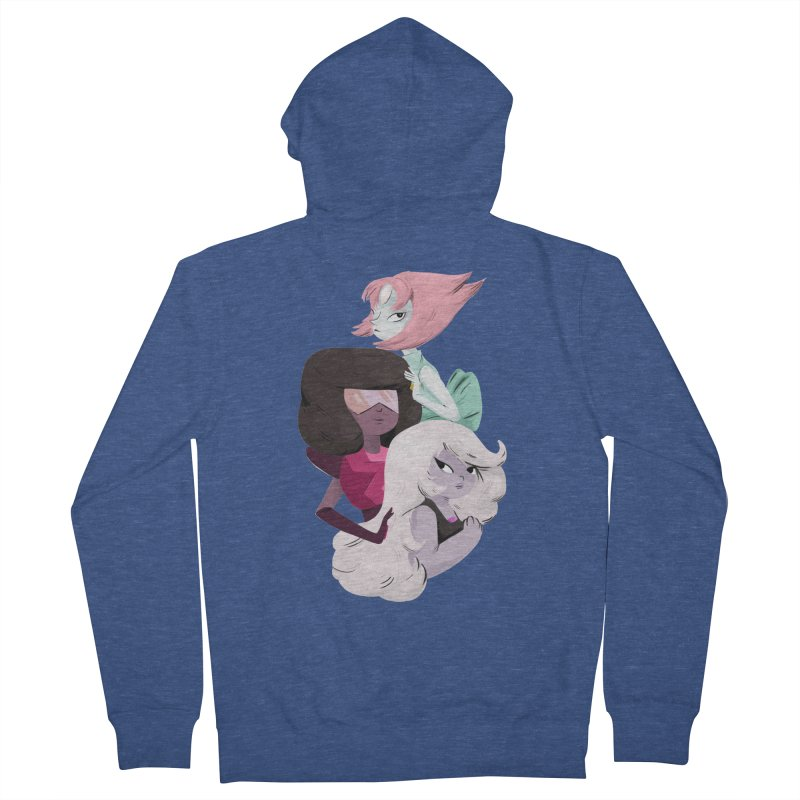 We'll Always Save The Day Women's French Terry Zip-Up Hoody by nanlawson's Artist Shop