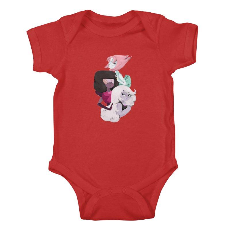 We'll Always Save The Day Kids Baby Bodysuit by nanlawson's Artist Shop