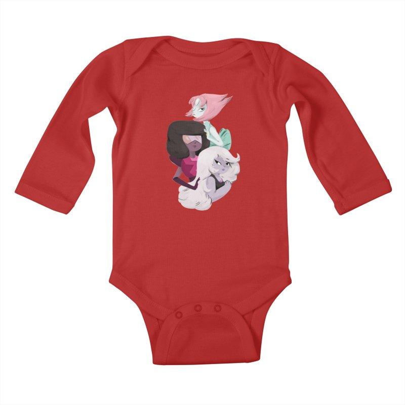 We'll Always Save The Day Kids Baby Longsleeve Bodysuit by nanlawson's Artist Shop