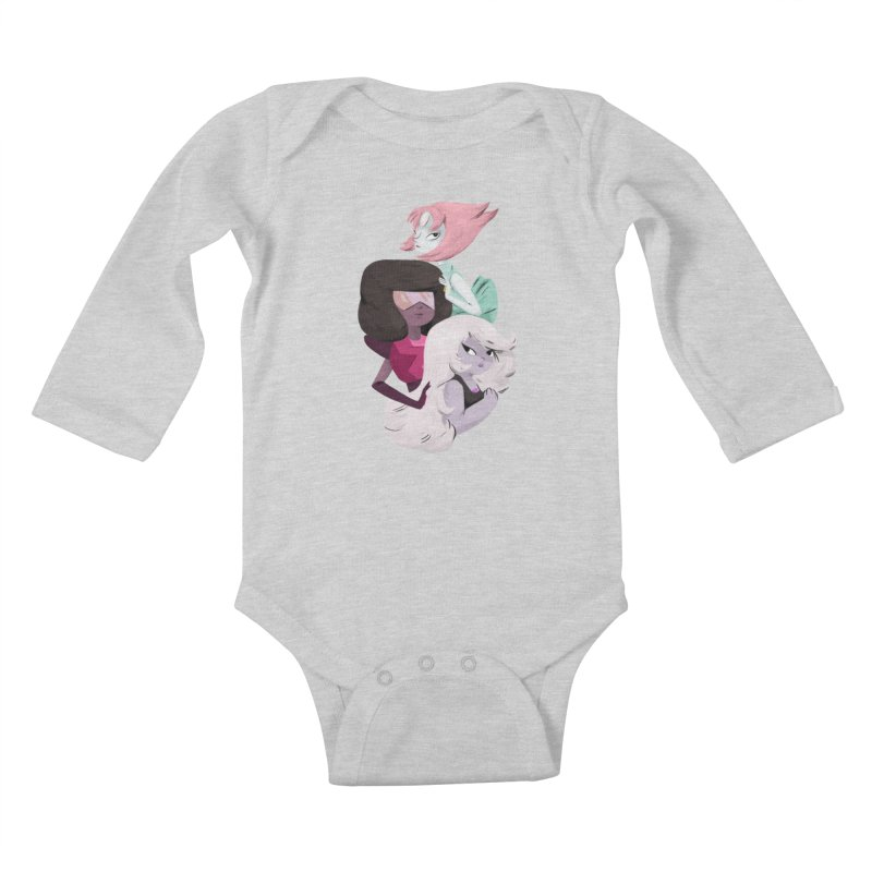 We'll Always Save The Day Kids Baby Longsleeve Bodysuit by Nan Lawson