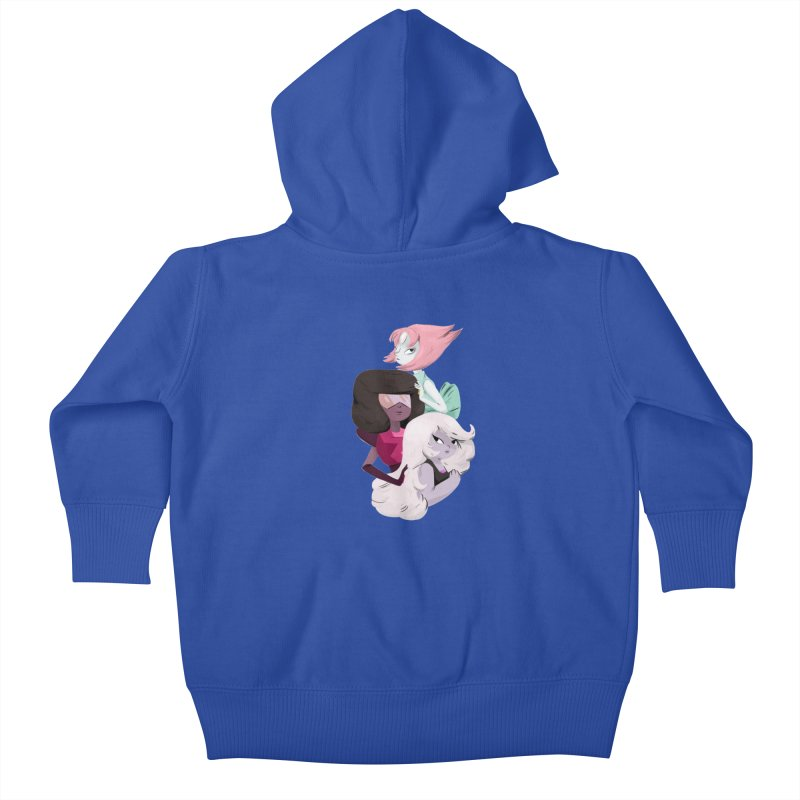 We'll Always Save The Day Kids Baby Zip-Up Hoody by Nan Lawson
