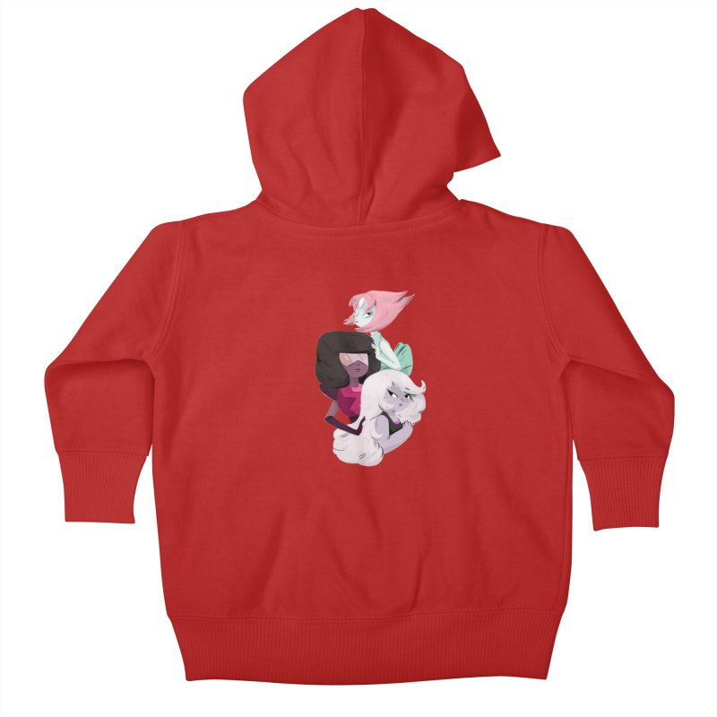 We'll Always Save The Day Kids Baby Zip-Up Hoody by nanlawson's Artist Shop