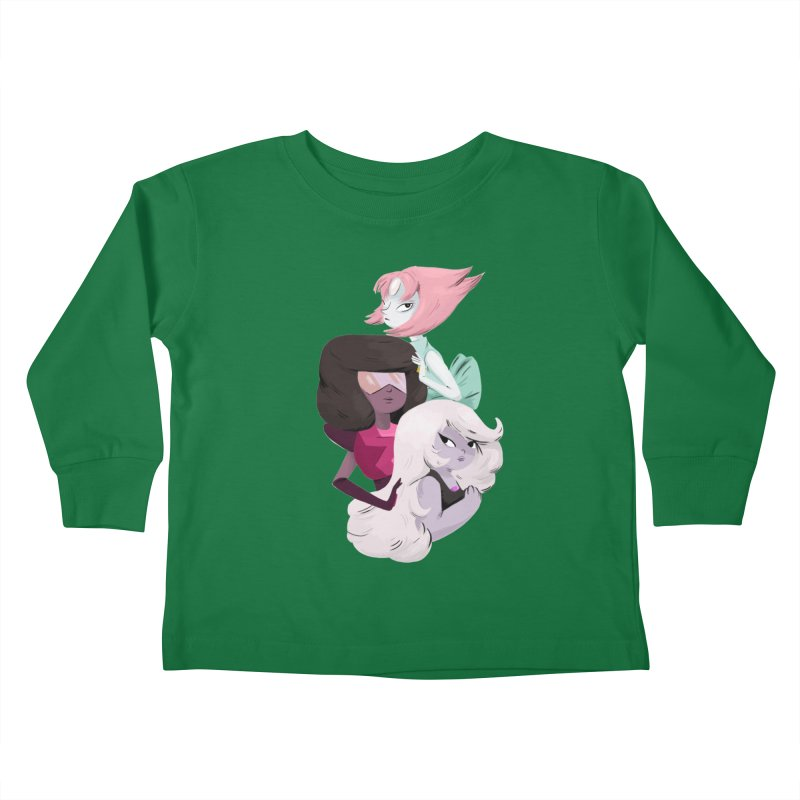 We'll Always Save The Day Kids Toddler Longsleeve T-Shirt by nanlawson's Artist Shop