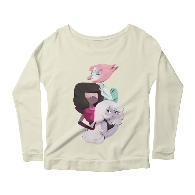 We'll Always Save The Day Women's Longsleeve Scoopneck  by nanlawson's Artist Shop