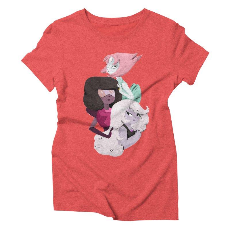 We'll Always Save The Day Women's Triblend T-Shirt by nanlawson's Artist Shop