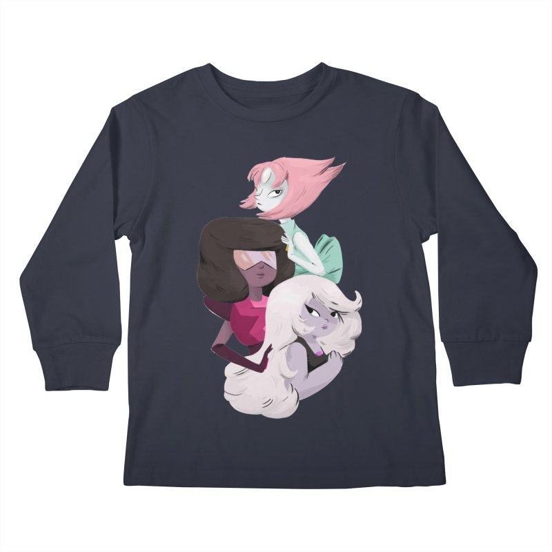 We'll Always Save The Day Kids Longsleeve T-Shirt by Nan Lawson
