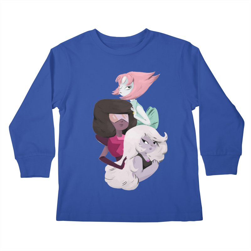 We'll Always Save The Day Kids Longsleeve T-Shirt by nanlawson's Artist Shop