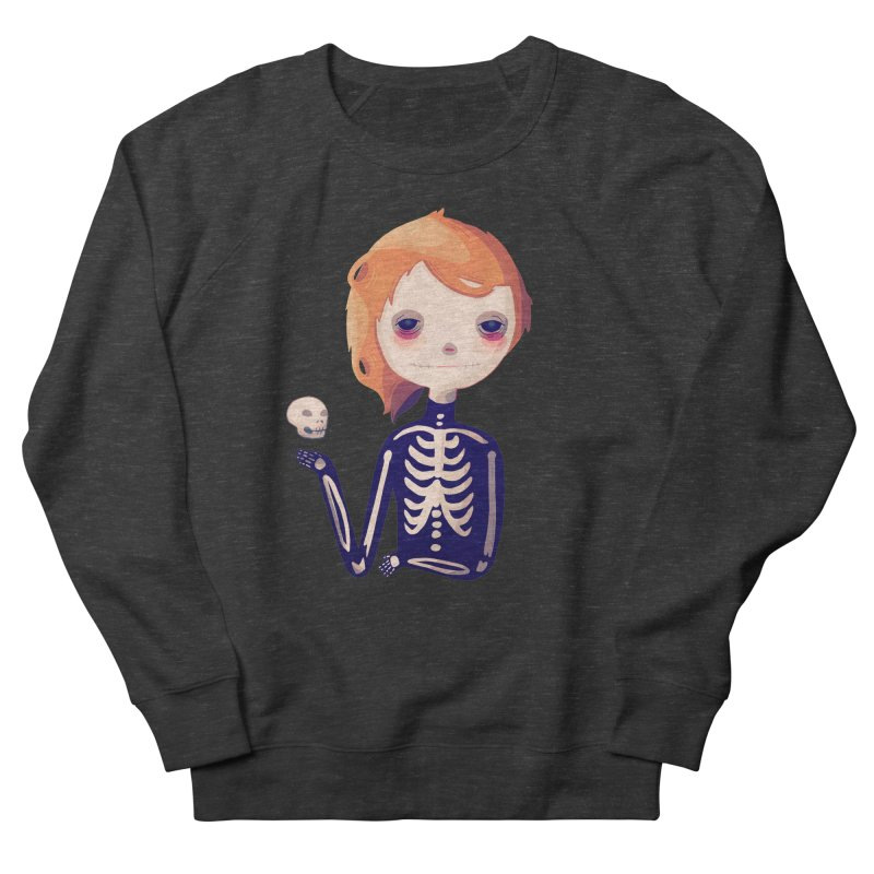 Bones Men's French Terry Sweatshirt by nanlawson's Artist Shop