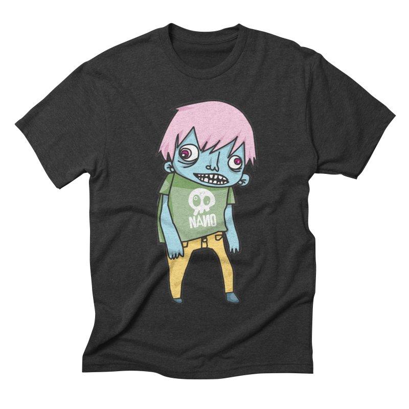 LOON Men's Triblend T-Shirt by [NANO]'s Tienda