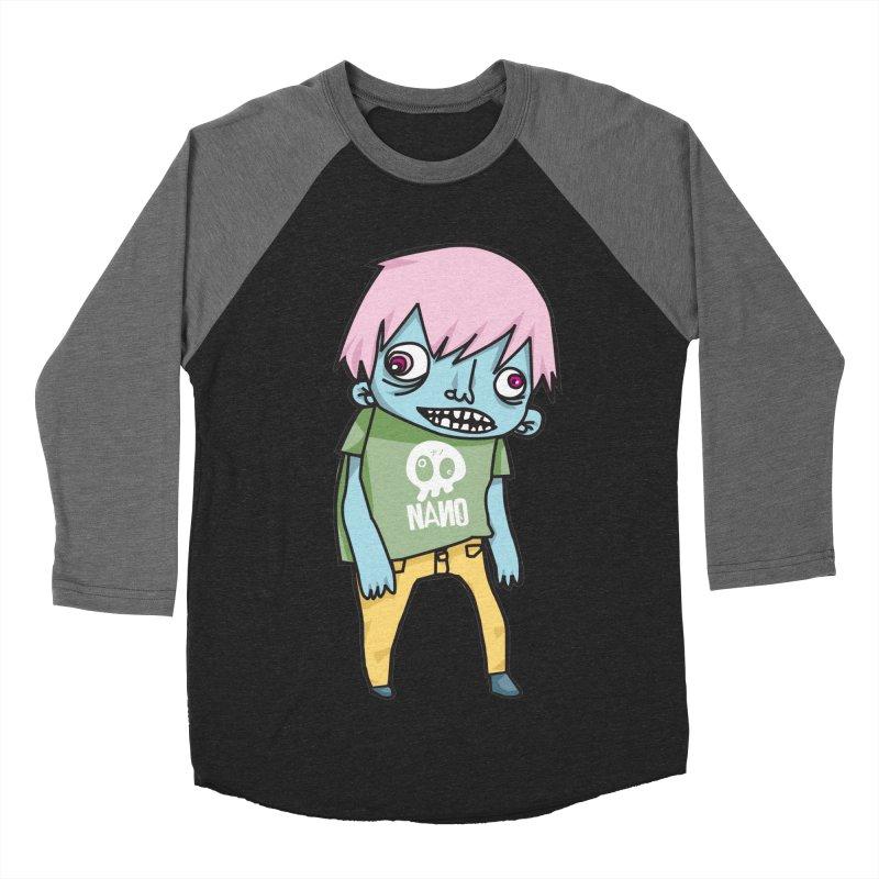 LOON Women's Baseball Triblend Longsleeve T-Shirt by [NANO]'s Tienda