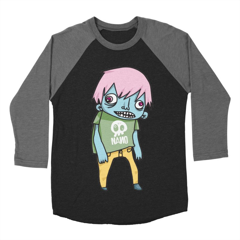 LOON Men's Baseball Triblend T-Shirt by [NANO]'s Tienda