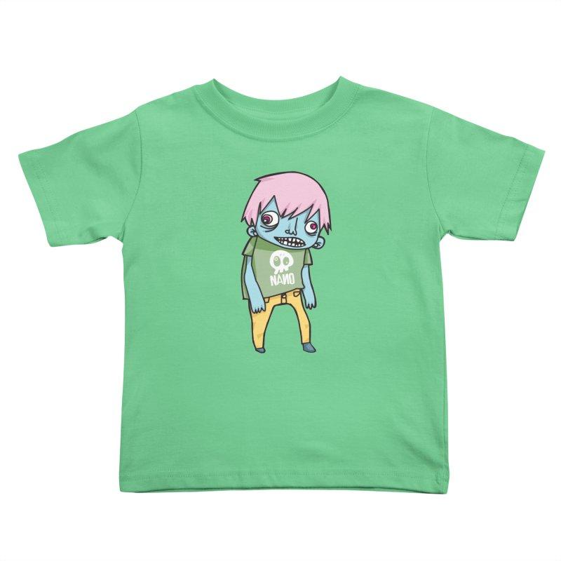LOON Kids Toddler T-Shirt by [NANO]'s Tienda