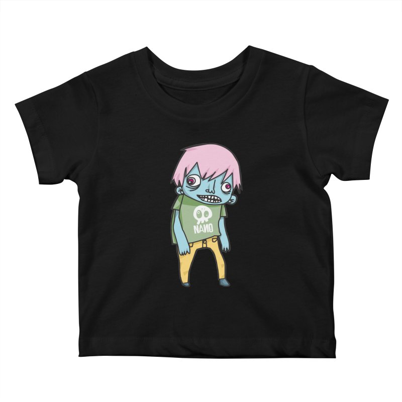 LOON Kids Baby T-Shirt by [NANO]'s Tienda