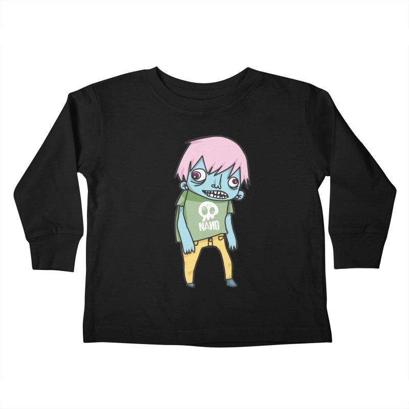 LOON Kids Toddler Longsleeve T-Shirt by [NANO]'s Tienda