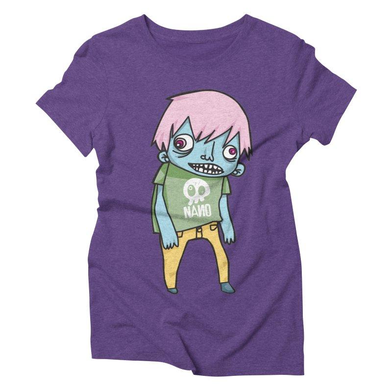 LOON Women's Triblend T-shirt by [NANO]'s Tienda
